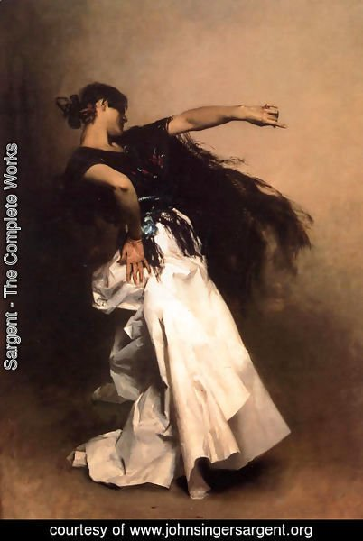 Sargent - Spanish Dancer