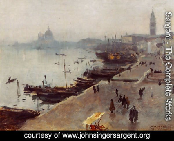 Sargent - Venice in Gray Weather