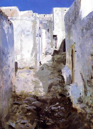 Sargent - A Street in Algiers