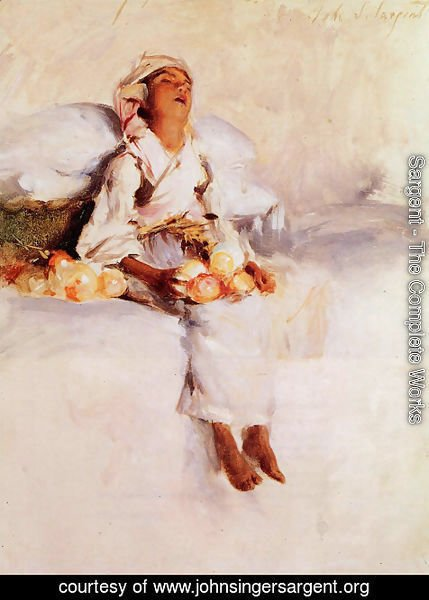 Sargent - The Little Fruit Seller