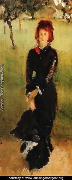 Sargent - Madame Edouard Pailleron (study)
