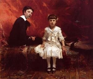 Sargent - Edouard and Marie-Louise Pailleron