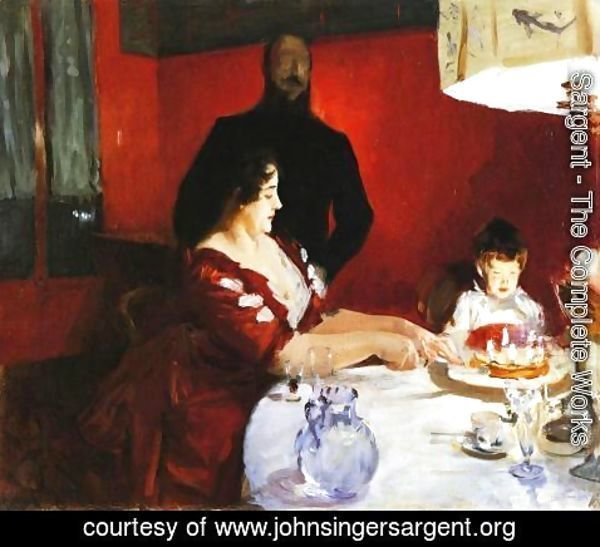 Sargent - Fete Famillale: The Birthday Party
