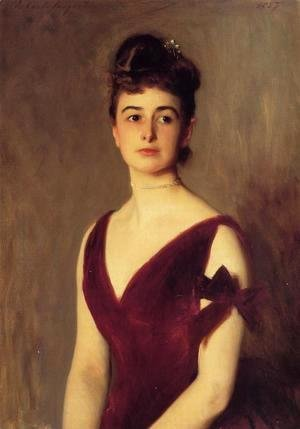 Sargent - Mrs. Charles E. Inches nee Louise Pomeroy