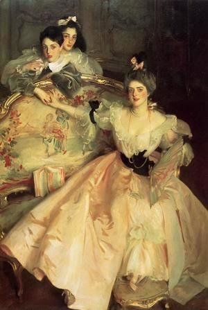 Sargent - Mrs. Carl Meyer and Her Children