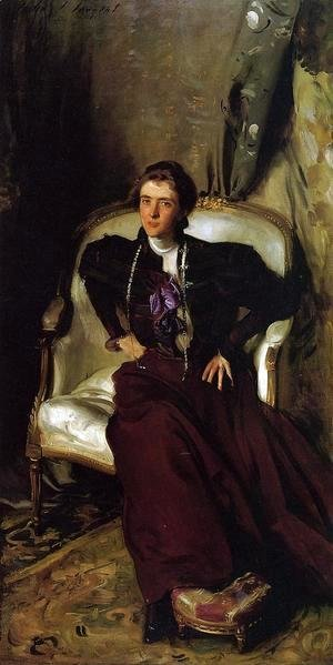 Sargent - Mrs. Charles Thursby (Alice Brisbane)