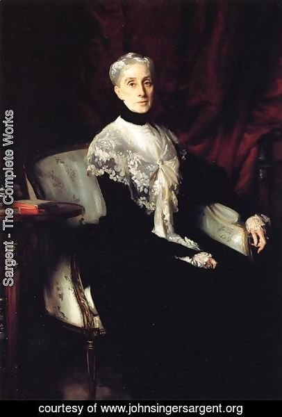 Sargent - Mrs. William Crowninshield Endicott