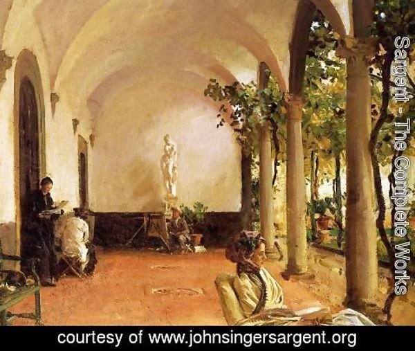 Sargent - Villa Torre Galli: The Loggia