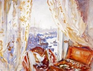 Sargent - View from a Window, Genoa