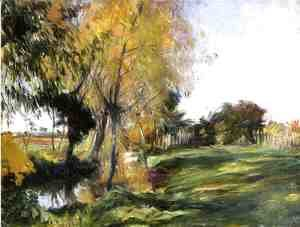 Sargent - Landscape at Broadway