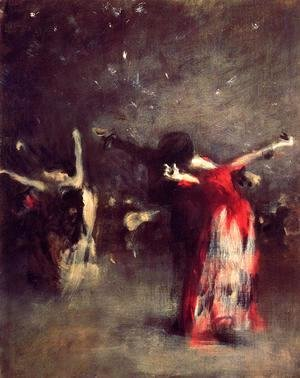 Sargent - Study for 'The Spanish Dancer'