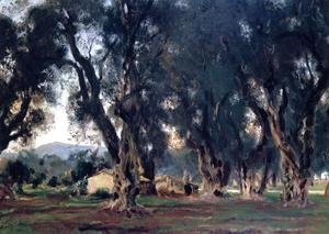Sargent - Olive Trees at Corfu