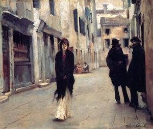 Sargent - Street in Venice 2
