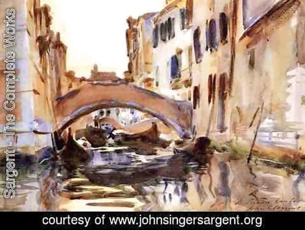 Sargent - Venetian Canal 2