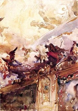 Sargent - Tiepolo Ceiling, Milan