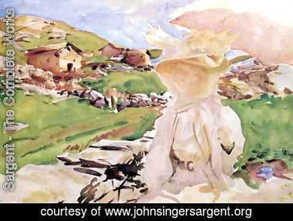 Sargent - In the Simplon Pass
