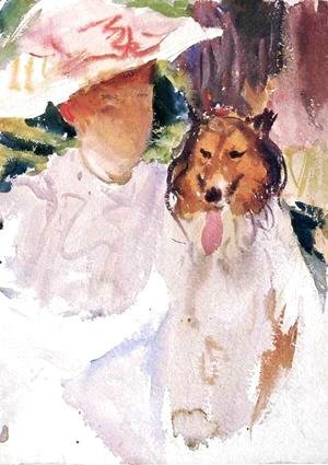 Sargent - Woman with Collie