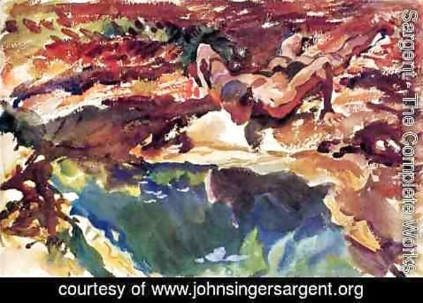 Sargent - Figure and Pool