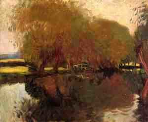 Sargent - A Backwater at Calcot Near Reading