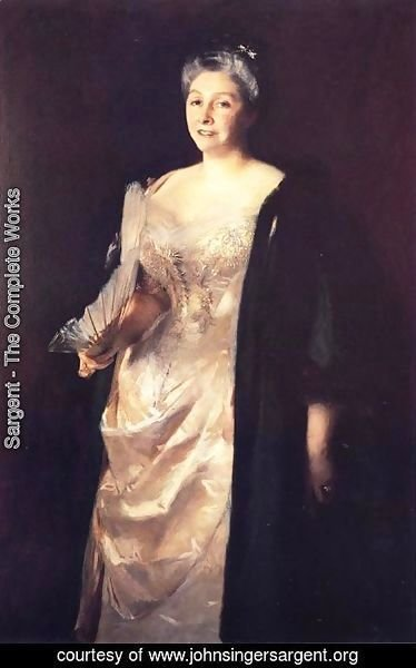 Sargent - Mrs. William Playfair