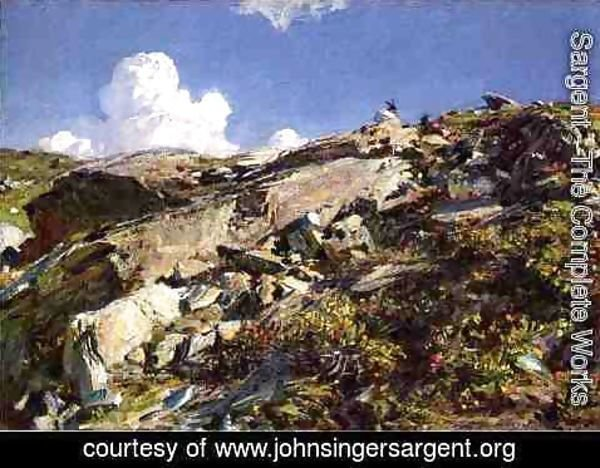 Sargent - In the Alps