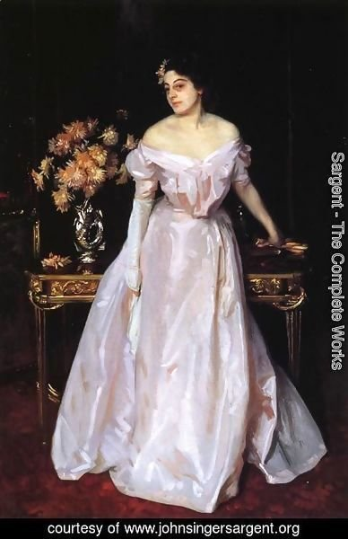 Sargent - Hylda, Daughter of Asher and Mrs. Wertheimer