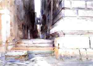 Sargent - Base of a Palace I