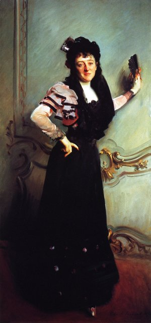 Sargent - Mrs. Walter Bacon (Virginia Purdy Barker)