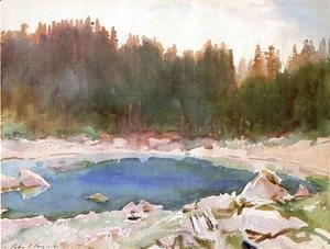 Sargent - Lake in the Tyrol