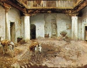 Sargent - Moorish Courtyard