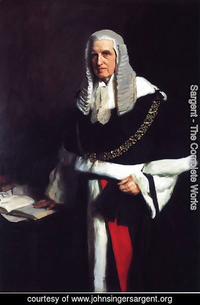 Sargent - Lord Russell of Killowen