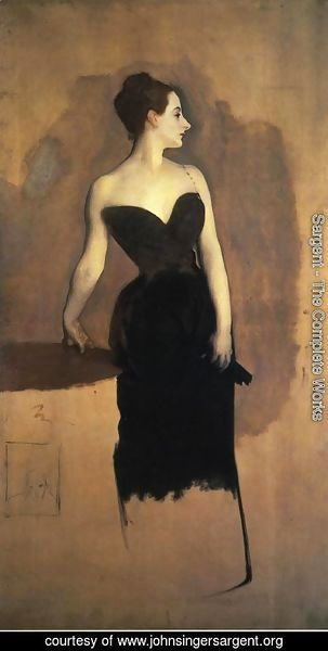Sargent - Madame Gautreau (unfinished)