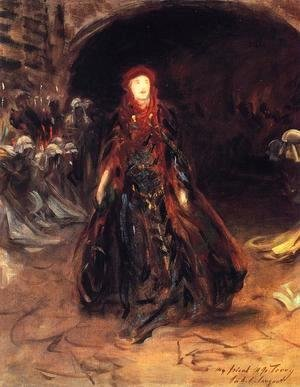 Sargent - Ellen Terry as Lady Macbeth (sketch)