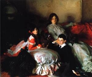 Sargent - Essie, Ruby and Ferdinand, Children of Asher Wertheimer