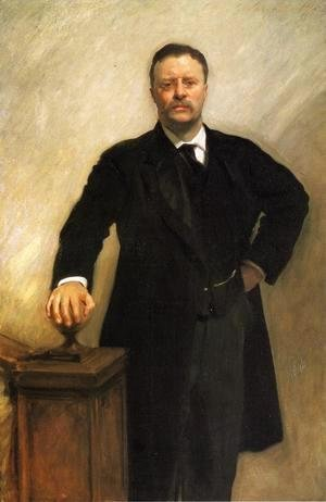 Sargent - President Theodore Roosevelt