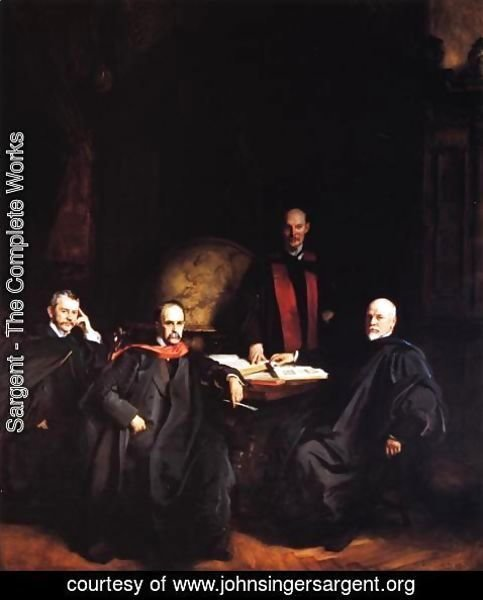 Sargent - Professors Welch, Halsted, Osler and Kelly
