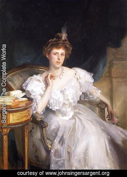 Sargent - Mrs. William George Raphael (Margherita Goldsmid)