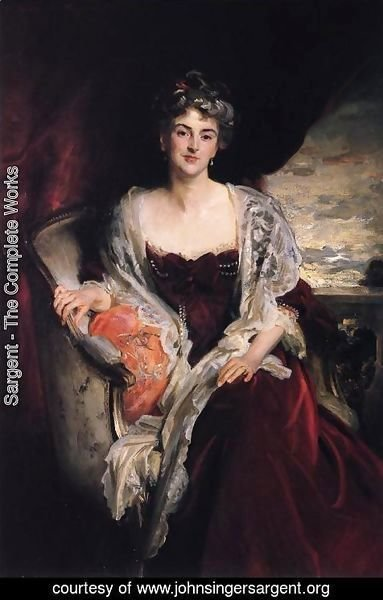 Sargent - Mrs. Augustus Allusen (Osma Mary Dorothy Stanley)