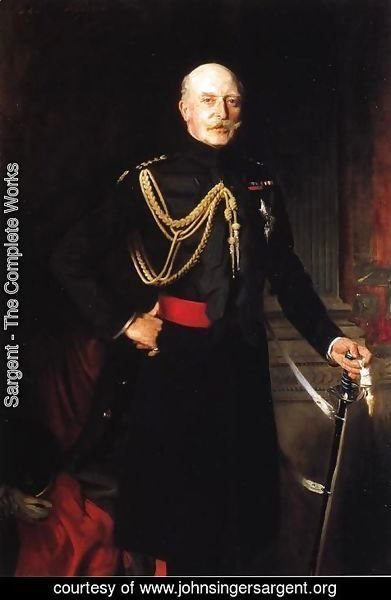 Sargent - Fiield Marshall H.R.H. the Duke of Connaught and Strathearn