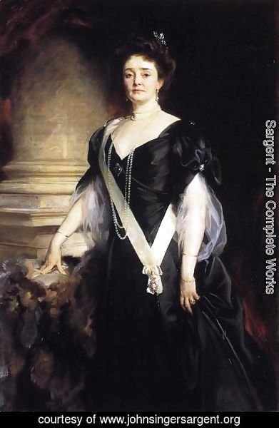 Sargent - H.R.H. the Duchess of Connaught and Strathearn (Princess Louisa Margaret Alexandra Victoria Agnes of Prussia)
