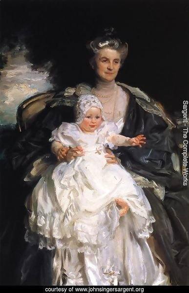 Mrs. Henry Phipps and Her Granson Winston