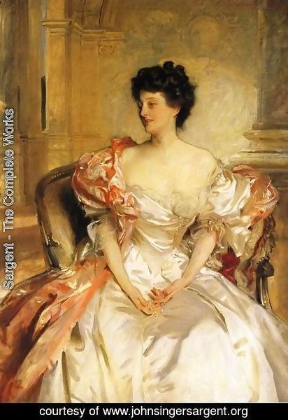 Sargent - Cora, Countess of Strafford (Cora Smith)