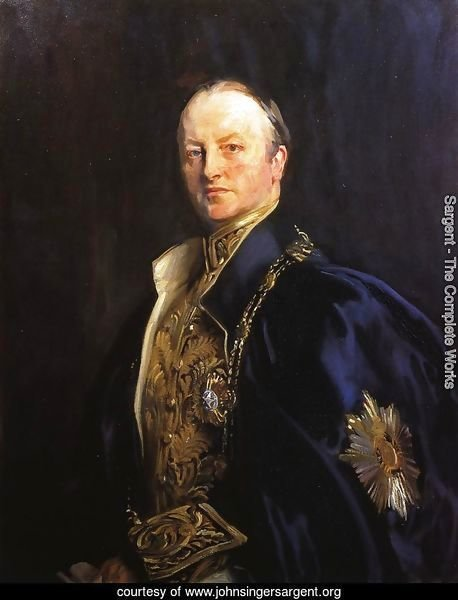 The Right Honourable Earl Curzon of Kedleston (George Nathanial Curzon)