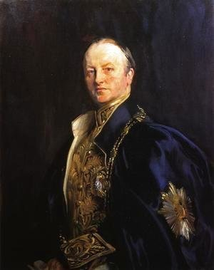 Sargent - The Right Honourable Earl Curzon of Kedleston (George Nathanial Curzon)