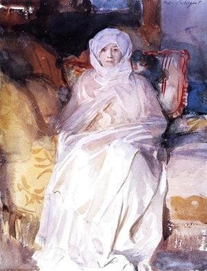 Sargent - Mrs. Gardner in White