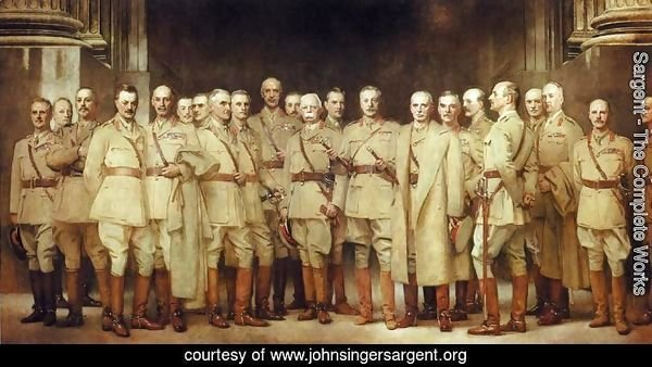 General Officers of World War I