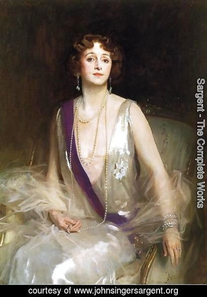 Sargent - The Marchioness Curzon of Kedleston
