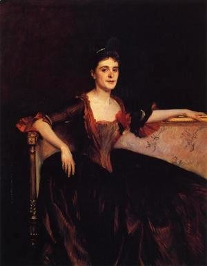 Sargent - Mrs. Thomas Lincoln Manson Jr (Mary Groot)