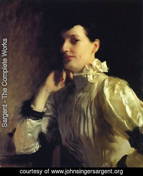 Sargent - Mabel Marquand, Mrs. Henry Galbraith Ward