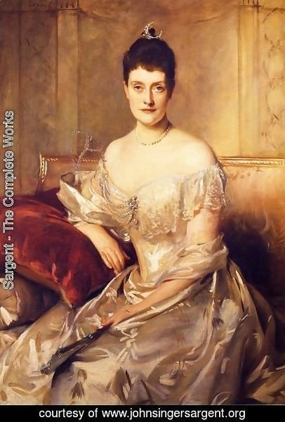 Sargent - Mrs. Mahlon Day Sands (Mary Hartpeace)